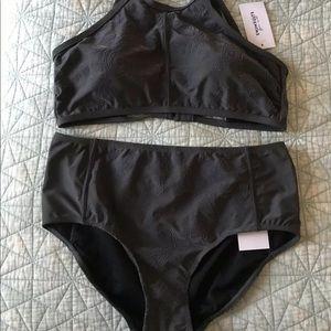 Swimsuits for All High Waist Bikini